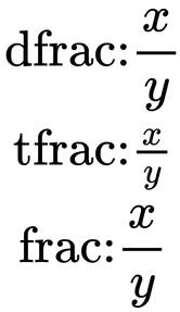 FracTypes